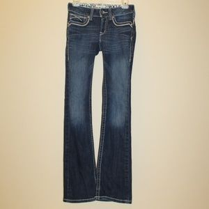 Ariat 26L Bootcut Jeans Low rise dark wash